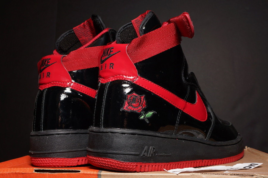 Nike Air Force 1 High Rose Sheed Patent Leather (2002) (1)