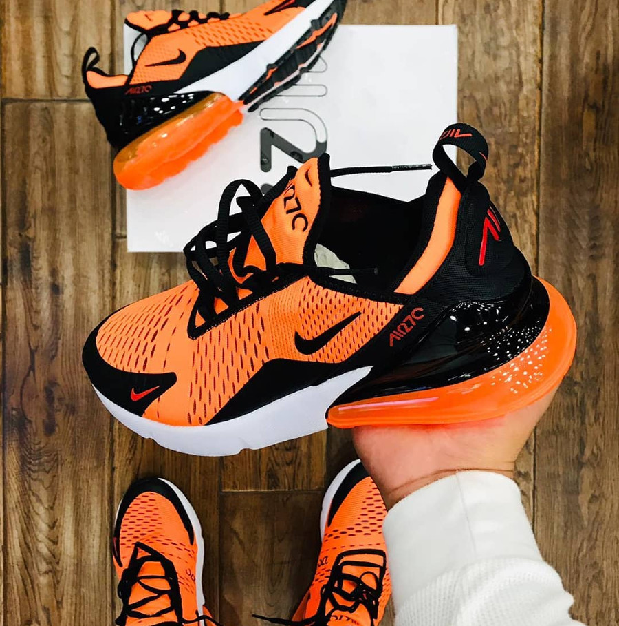 Nike Air Max 270 Orange Tiger