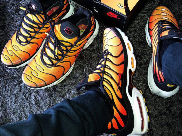 wholesale dealer 385be e1393 Avis] Nike Air Max Requin Plus OG 2018 'Sunset' Orange Tiger