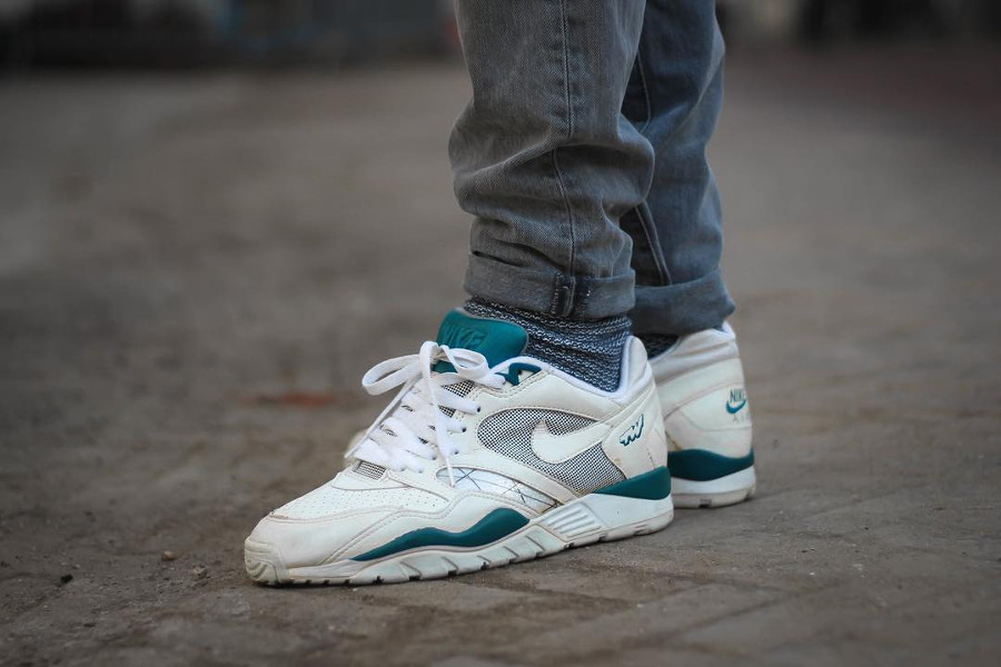 Nike Air Trainer TW II White Teal - @wolfofwalstraat (1991)