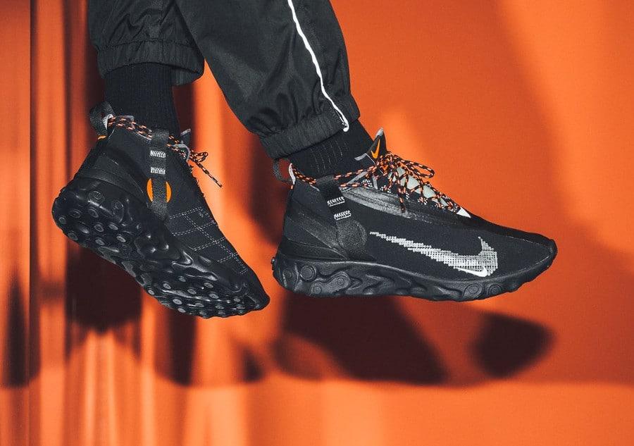 Nike React Runner Mid noire (3)