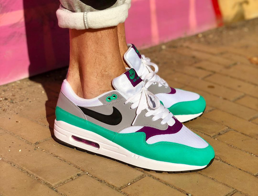 Nike Wmns Air Max 1 Clear Emerald pas cher