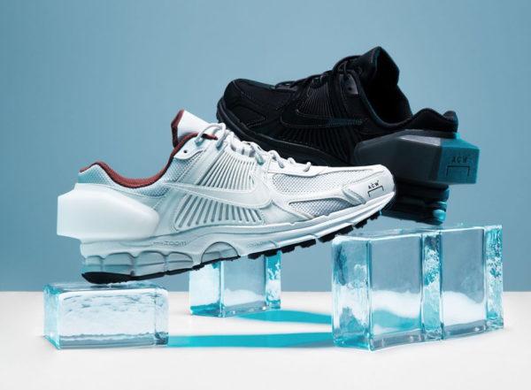 Nike Zoom Vomero +5 ACW A Cold Wall White & Black