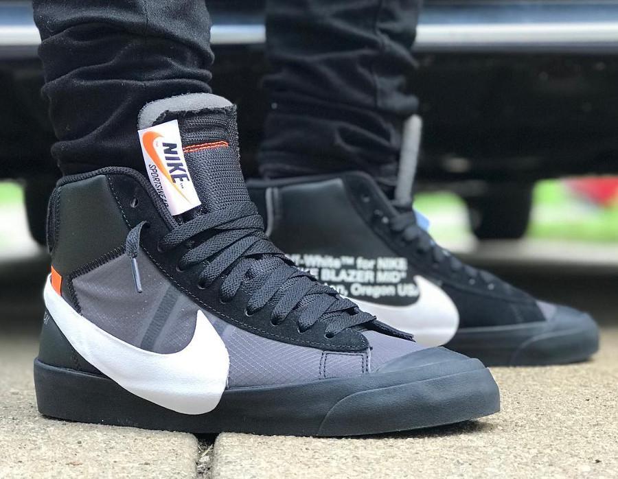 Off White x Nike Blazer Mid Grim Reaper - @spigi_shoes