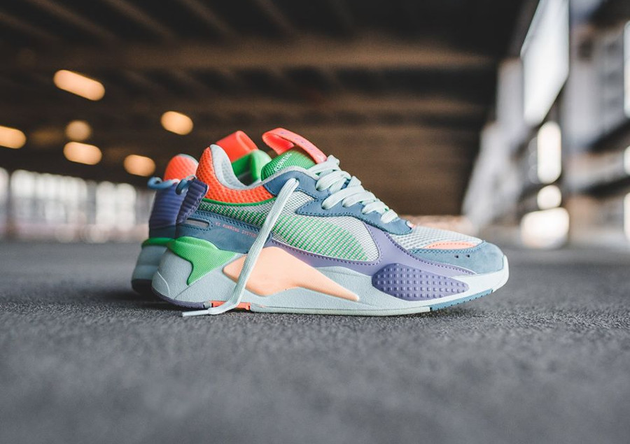 Puma RS-X Toys Wn's 'Multicolor' Bonnie Blue Sweet Lavender'