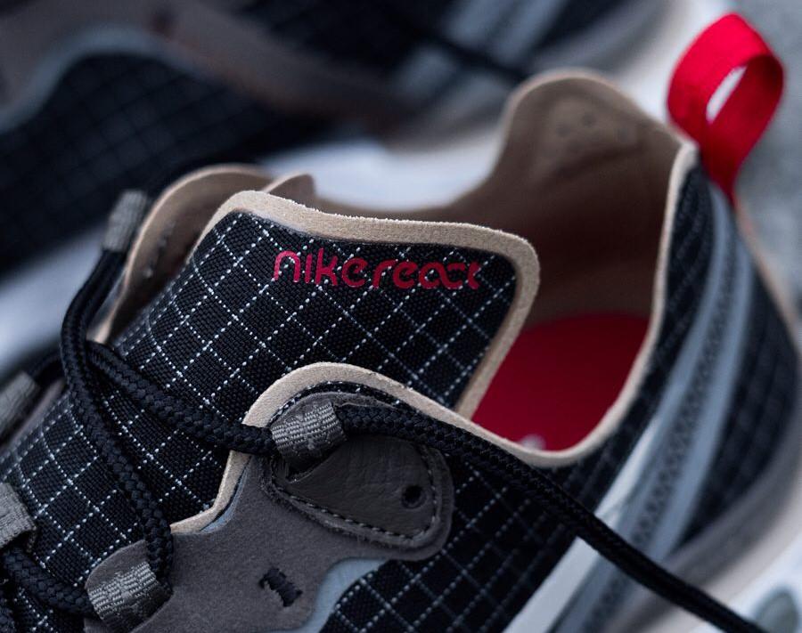 Size x Nike React Element 55 noire marron et beige (1)
