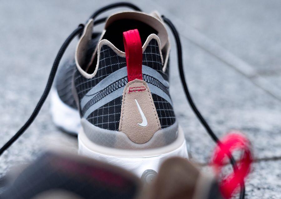 Size x Nike React Element 55 noire marron et beige (2)