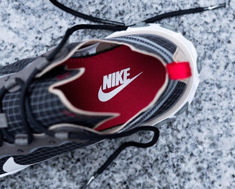 Size x Nike React Element 55 noire marron et beige (4)