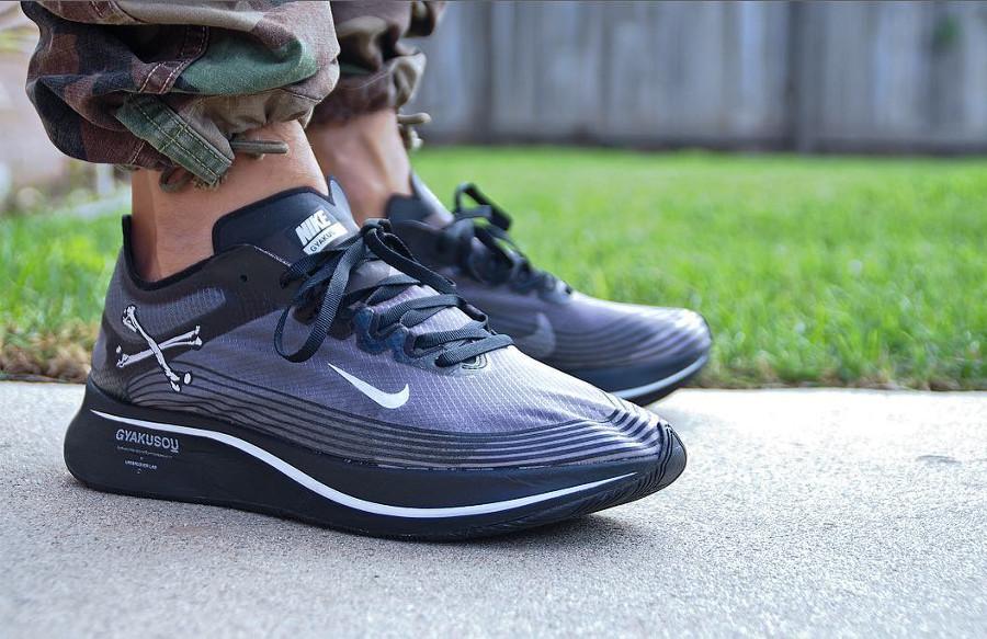 Undercover x Nike Zoom Fly SP Gyakusou Black - @omashuno