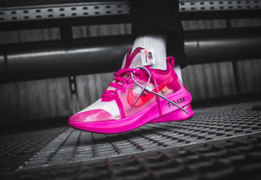Virgil Abloh x Nike Zoom Fly The Ten rose Tulip Racer Pink (3)