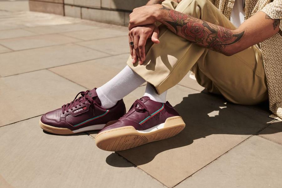 adidas-continental-80-violette-avec-semelle-en-gomme-pour-homme (0)