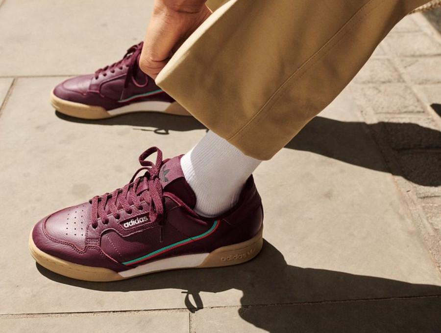 adidas-continental-80-violette-avec-semelle-en-gomme-pour-homme (1)