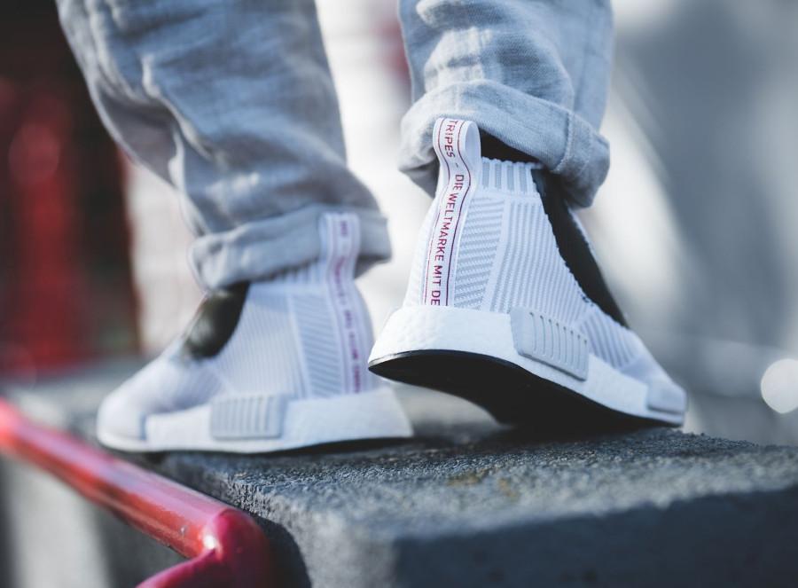 adidas-nmd-cs1-blanche-avec-un-soleil-rouge-1