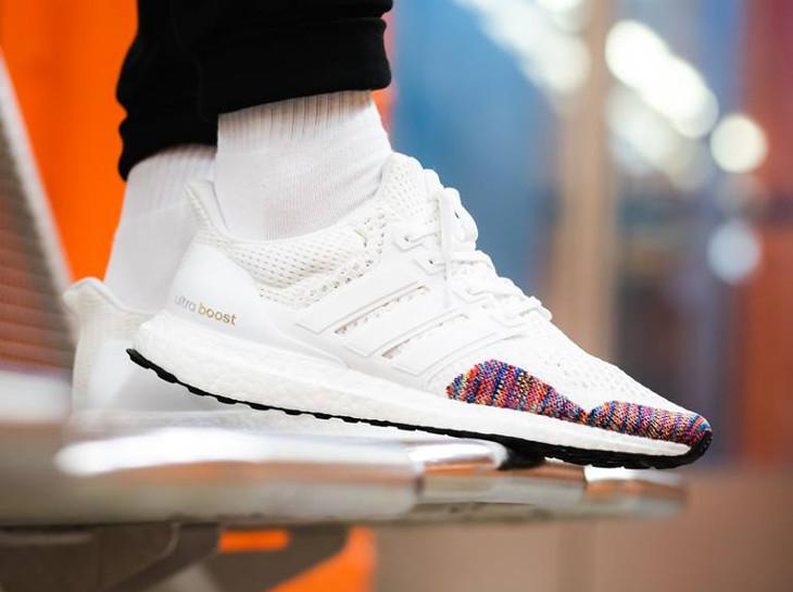 adidas ultra bottes 1.0 multi color toe white