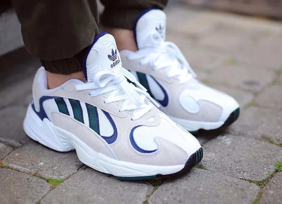Adidas Yung 1 OG 'White Noble Green Dark Blue'