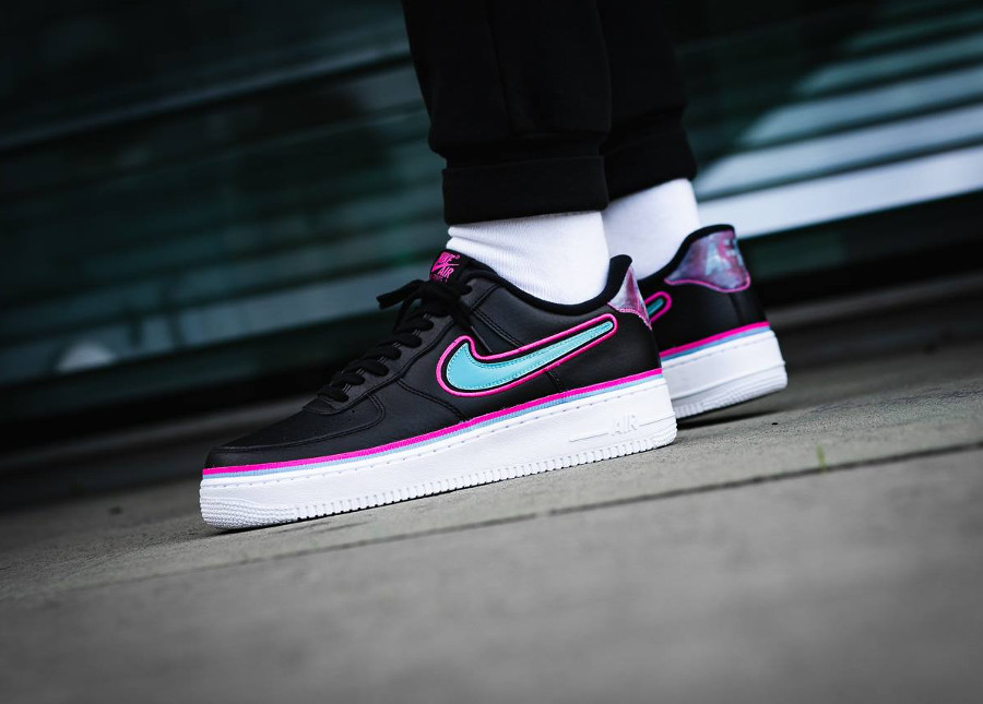 Nike Air Force 1 '07 LV8 Sport NBA AF1 'Miami Vice'
