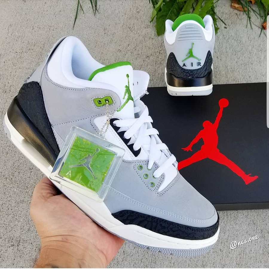 air-jordan-iii-grise-blanche-noire-et-verte-on-feet (1)