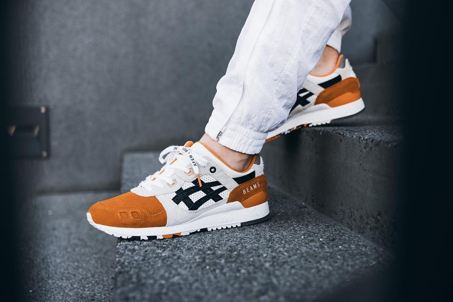 Afew x Beams x Asics Gel Lyte 3 'Orange Koi'
