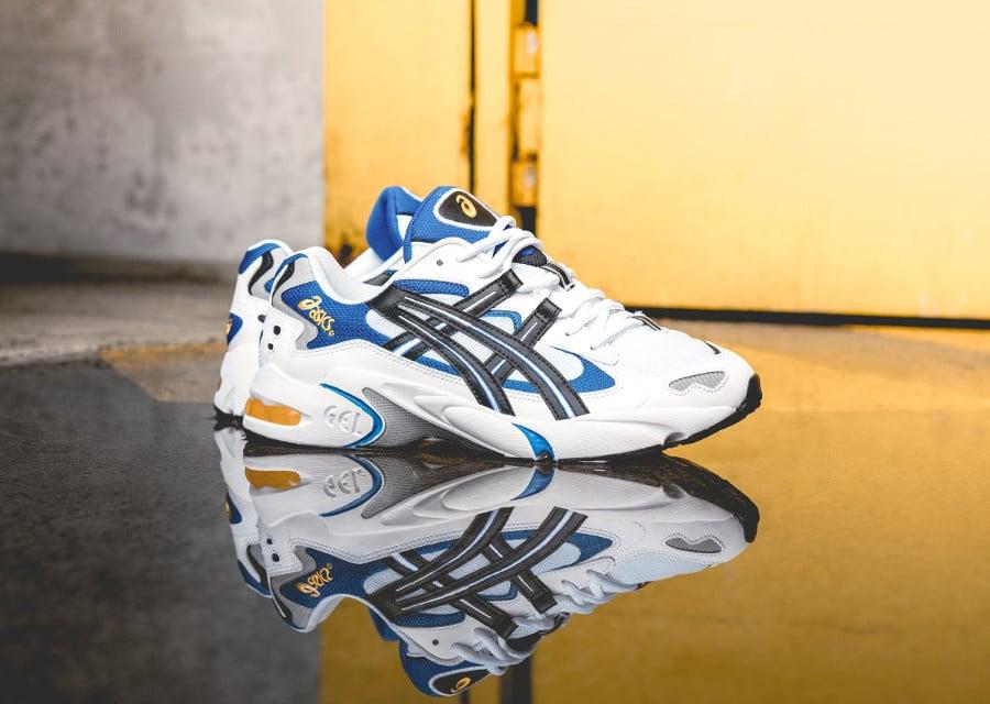 asics-tiger-gel-kayano-v-blanche-noire-bleue-et-jaune-3