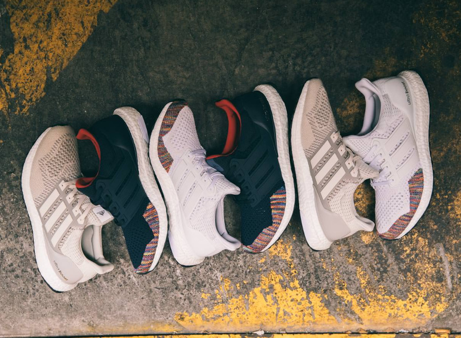 Adidas Ultra Boost 1.0 OG White & Navy 'Multicolor' (Legacy Pack)