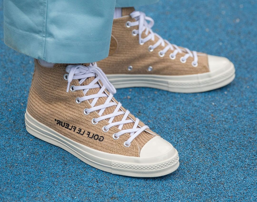 converse-all-star-tyler-the-creator-toile-de-jute-beige-on-feet