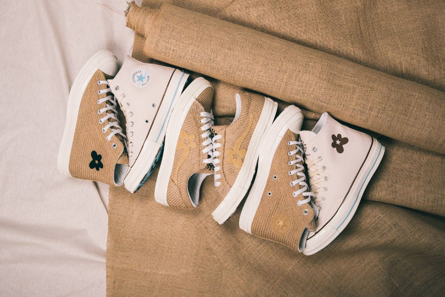 Converse x Tyler The Creator Golf Le Fleur 'Burlap' Curry