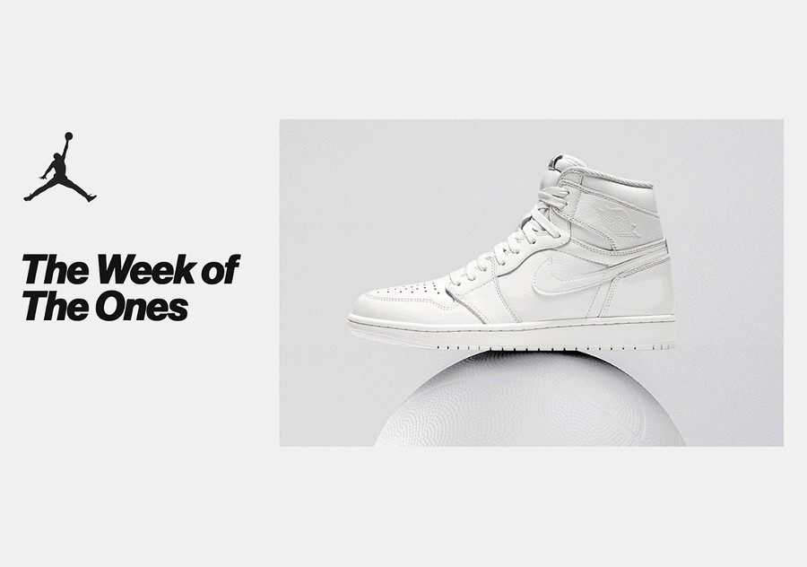 The Week of the Ones : une Air Jordan 1 qui sort chaque jour