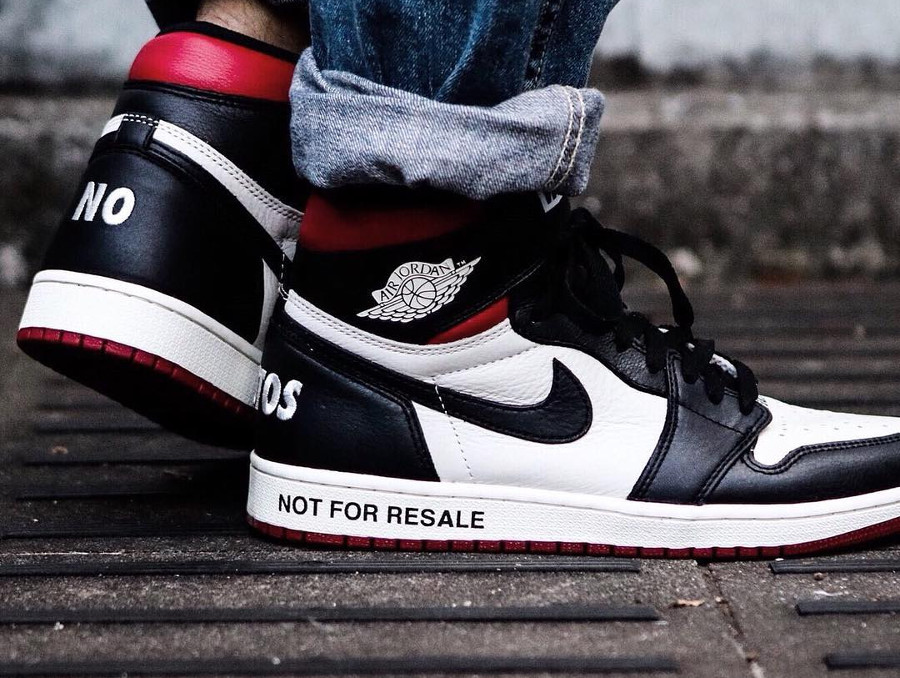 latest fashion pick up best sale La Air Jordan 1 High Retro OG NRG 'Not For Resale' : comment ...