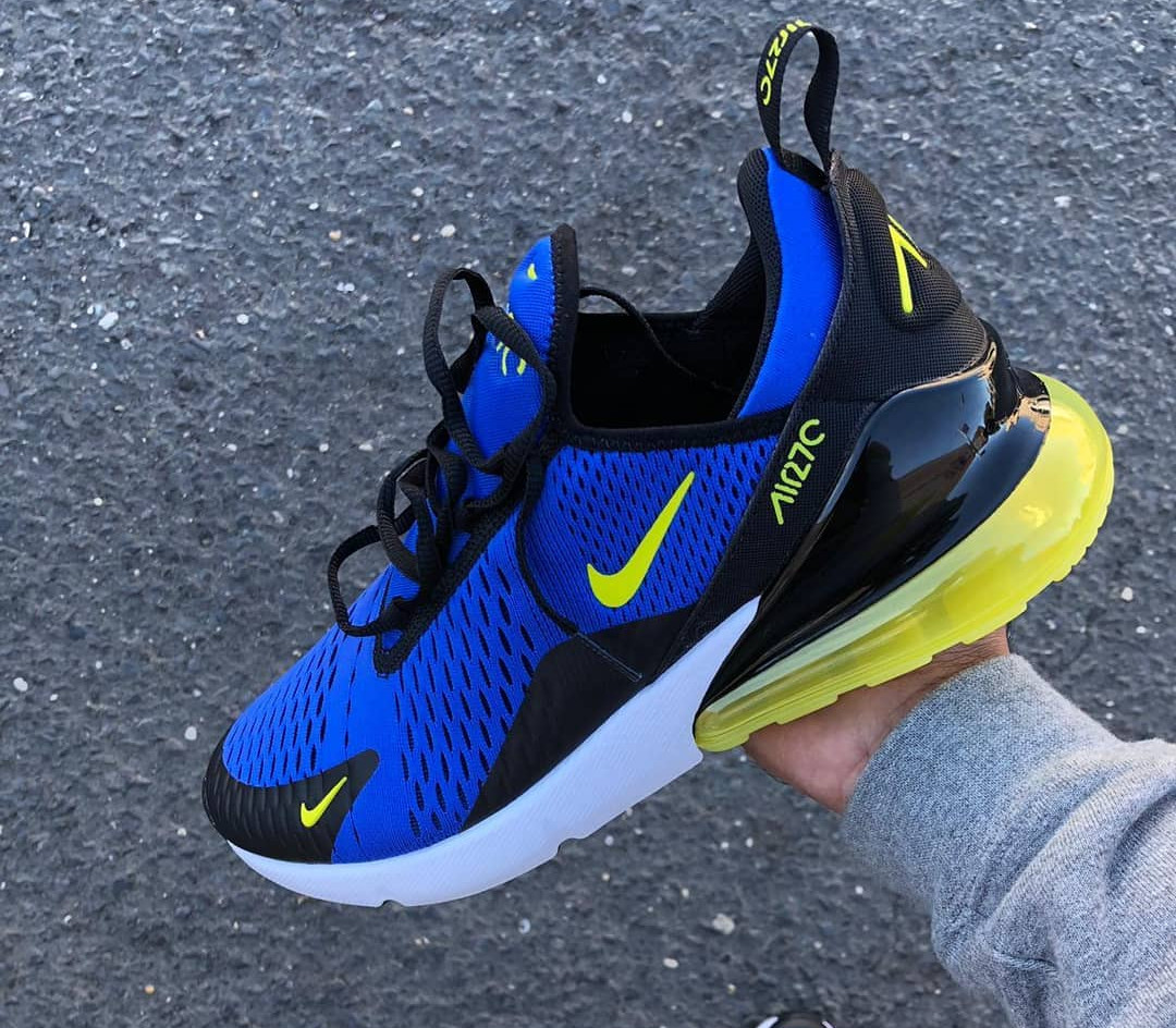 air max 270 jaune fluo