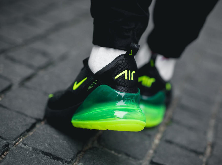 Nike Air Max 270 'Black Volt Oil Grey'