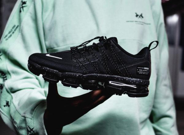 La Nike Air Vapormax Run Utility noire Triple Black : où l