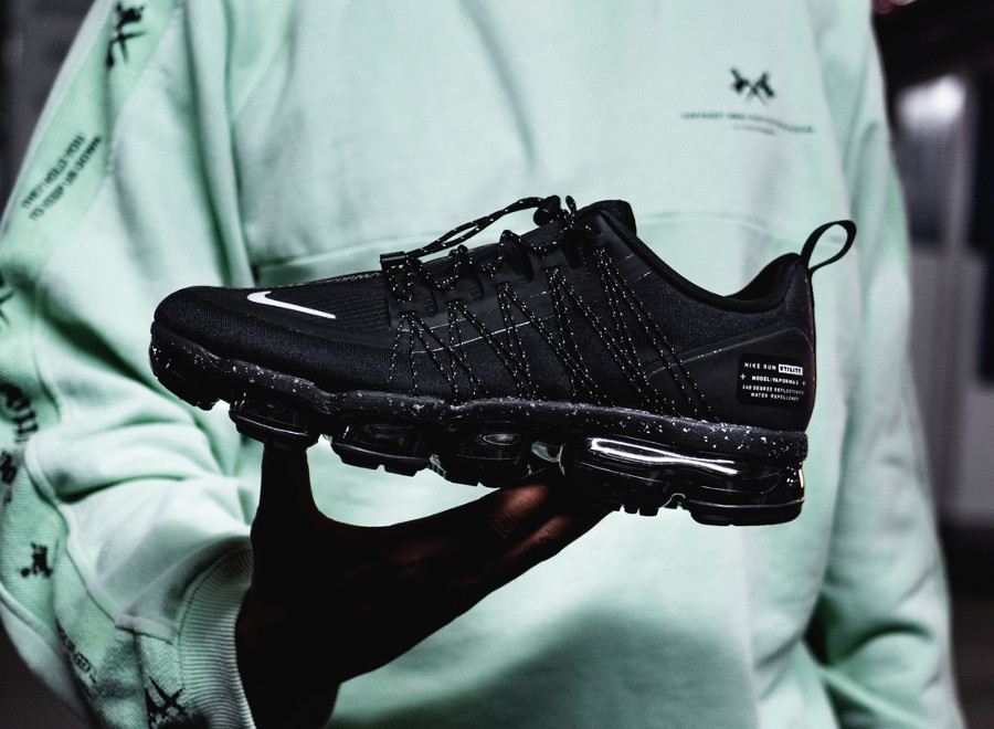 Nike Air Vapormax Run Utility 'Black Reflective Silver'