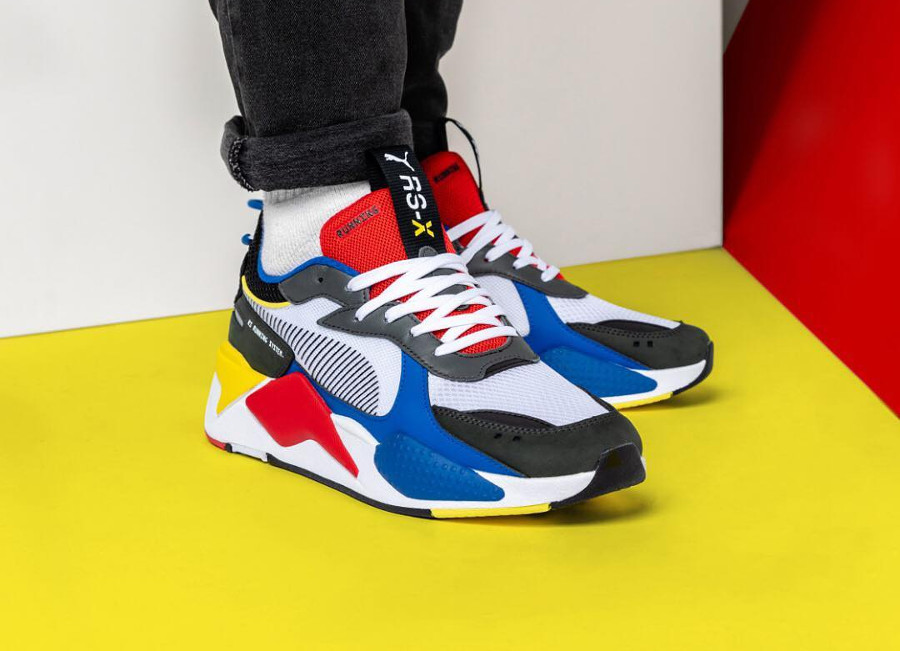 Puma RS-X Reinvention Toys 'White Royal Red'
