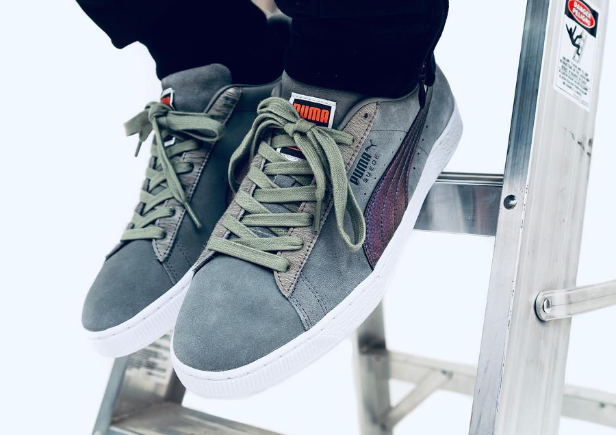 Jeff Staple x Puma Suede 50th Anniversary 'Pigeon'