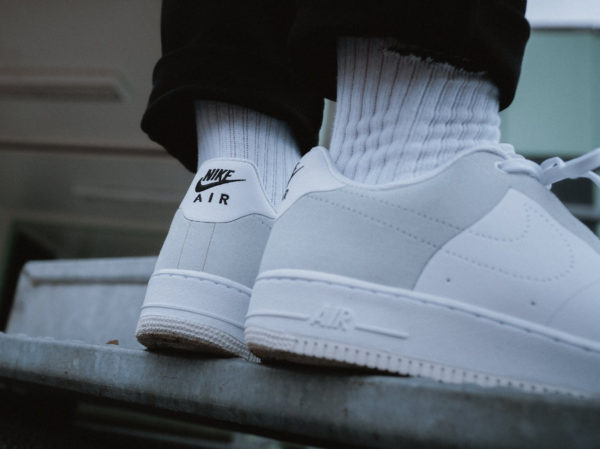A-Cold-Wall x Nike Air Force 1 Flyleather blanche white (1)