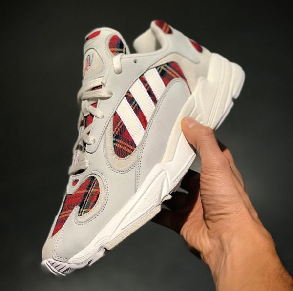 Absolute Vintage x Adidas Yung 1 Chalk White Red
