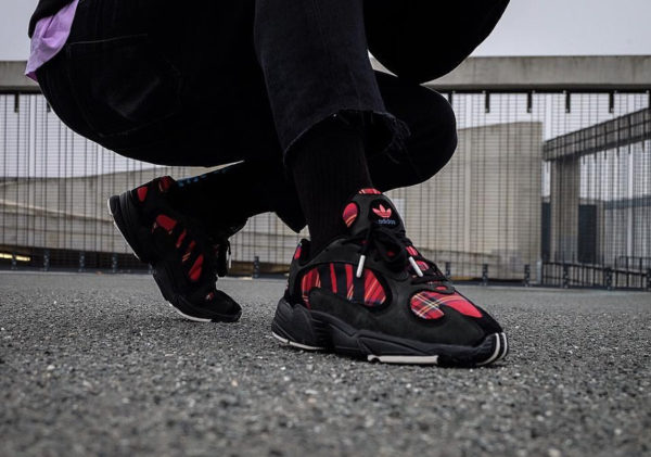Absolute Vintage x Adidas Yung 1 Core Black Red