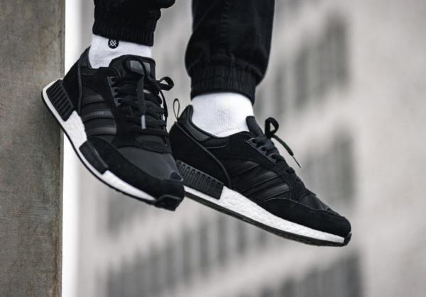 Adidas Boston Super x r1 never made triple black (EE3654) (2)