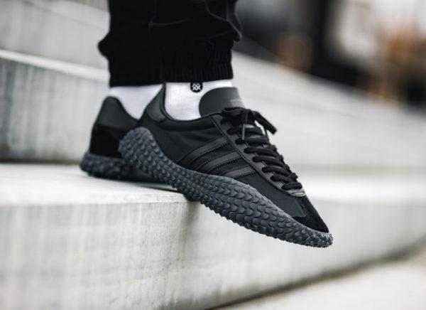 Adidas Country x Kamanda Never Made Triple Black (2)