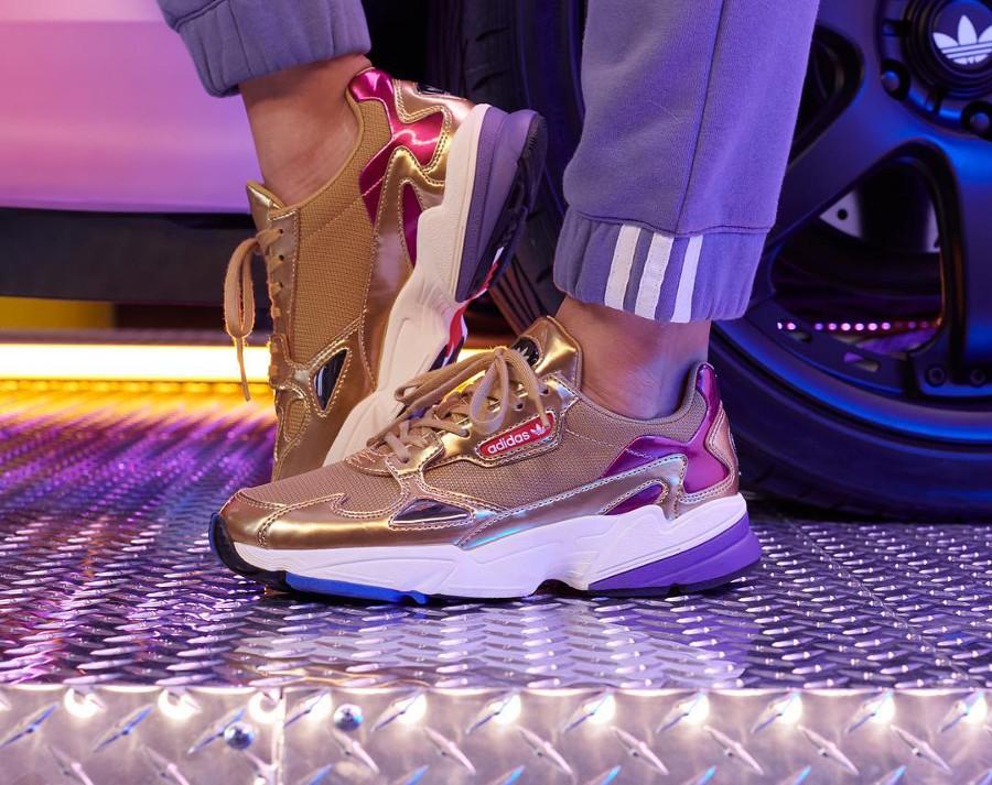 Adidas Falcon W Metallic Tones (1)