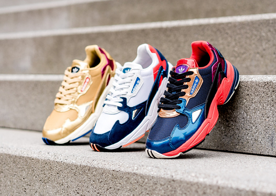 Adidas Falcon W 'Metallic Tones Pack' (collection décembre 2018)