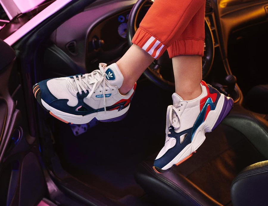 Adidas Falcon W Metallic Tones