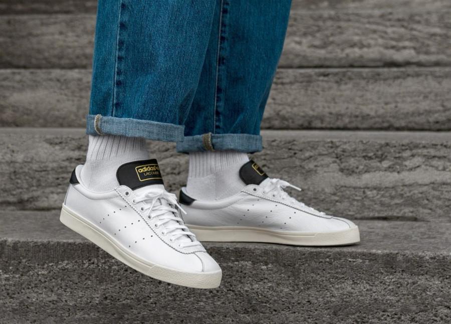Adidas Lacombe FTWR Chalk White Core Black (3)