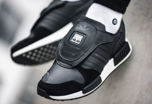 Adidas Micropacerxr1 Never Made noire Triiple Black (2)