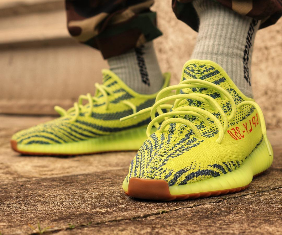 Kanye West x Adidas Yeezy 350 Boost V2 'Semi Frozen Yellow'
