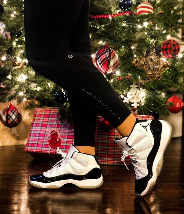Air Jordan 11 Retro Concord x sapin de Noel - @sheshoe_game