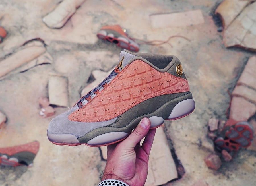 Clot x Air Jordan 13 Retro Low Terracotta Blush