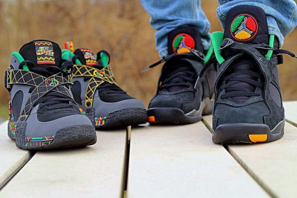 Air Jordan 8 Retro Tinker Air Raid II 'Peace Urban Jungle'