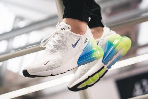 Avis] Nike Air Max 270 SE Allover Print White Explosion
