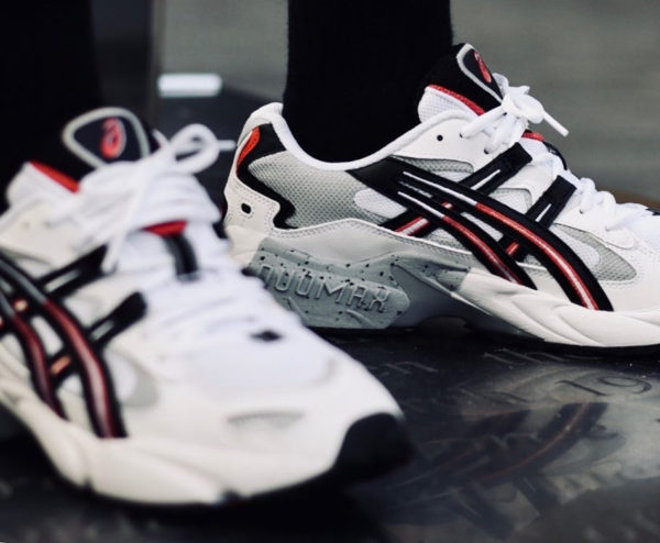 magasin d'usine 8928a d5215 Avis] Asics Gel Kayano 5 OG 'White Black Red' 2018 (1191A176 ...
